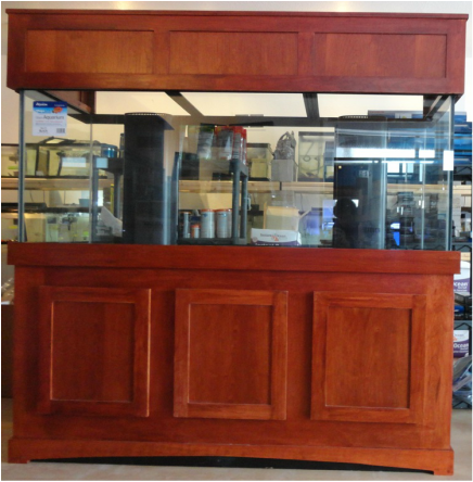 Cherry Custom Stand u0026 Canopy at Milwaukee Aquatics. : wood canopies - memphite.com