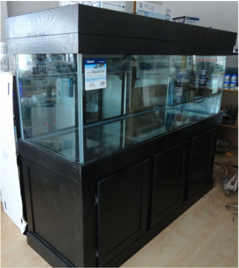 Aquarium Stands And Wood Canopies