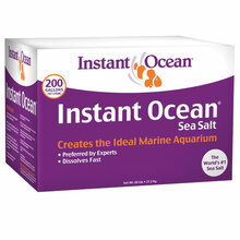 We have Instant Ocean and Reef Crystals in stock and on sale.